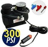 MINI COMPRESSORE PORTATILE 12V 300 PSI (30 press) X AUTO CAMPER
