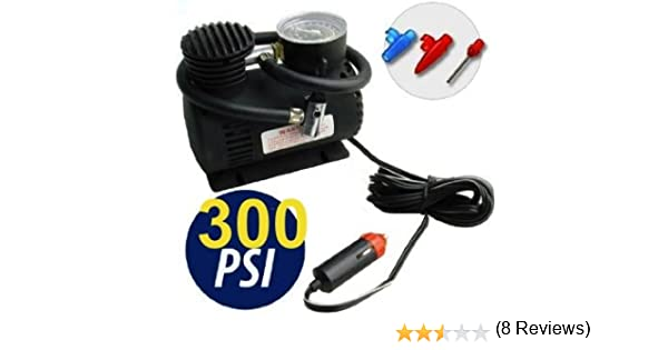 MINI COMPRESSORE PORTATILE 12V 300 PSI 30 press X AUTO CAMPER