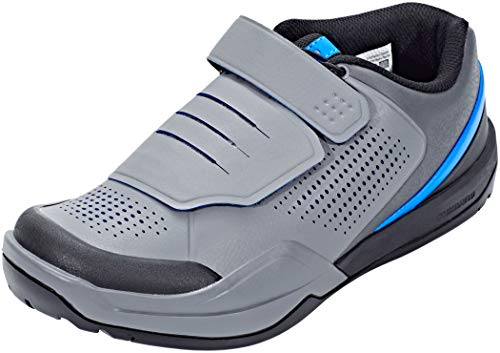 SHIMANO , Herren Radsportschuhe grau/blau 46 EU