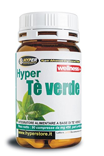 Hyper Integratore Alimentare di Tè Verde, Antiossidante, Drenante, Dimagrante - 1 Pacco