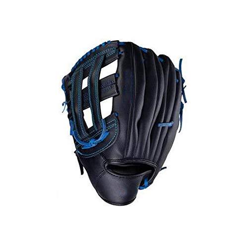 Aishanghuayi Baseballhandschuhe, Leder gepolsterte Baseballhandschuhe Kinder Junior Erwachsene Catcher Pitcher Baseball-Set, Softballhandschuhe, Handschuhe für die Linke und rechte Hand -