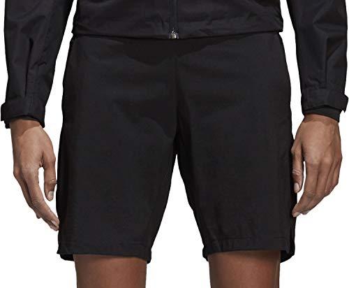 adidas Terrex CY9093 Damen Terrex Funktionsshort atmungsaktiv mit Elastikbund Stretch, Groesse 40, schwarz - Adidas-stretch-shorts