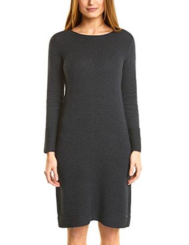 CECIL Damen Kleid 140584, Grau (Graphit Grey Melange 10602), Large