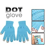 Detailed product description: 1) warm your hands in winter 2) material: 80% nylon 15% spandex 5% conductive fiber 3) dot glove for iphone / htc / blackberry / samsung and other touch screen mobile phone / tablet pc. 4) size: free (220 x 135 x 2mm) 5)...