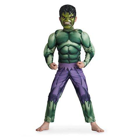Disney original - Hulk - Kostüm für Kinder - Alter 3 / 4 Jahre