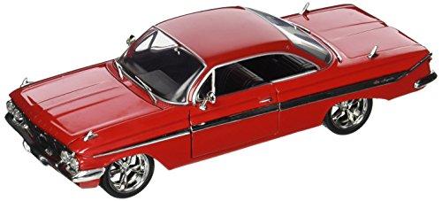 Jada Toys–98426r–Chevrolet Impala–Fast and Furious 8–Maßstab 1/24–Rot