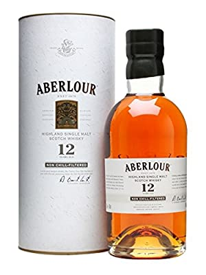 Aberlour 12 Year Old Non Chill Filtered Single Malt Scotch Whisky 70cl Bottle