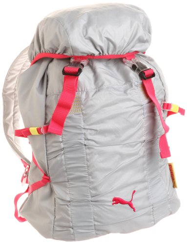 PUMA Fitness Workout Backpack, Grau/Rosa