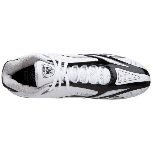 Reebok NFL Burner SPD III 5/8 M3 Synthétique Baskets White-Black