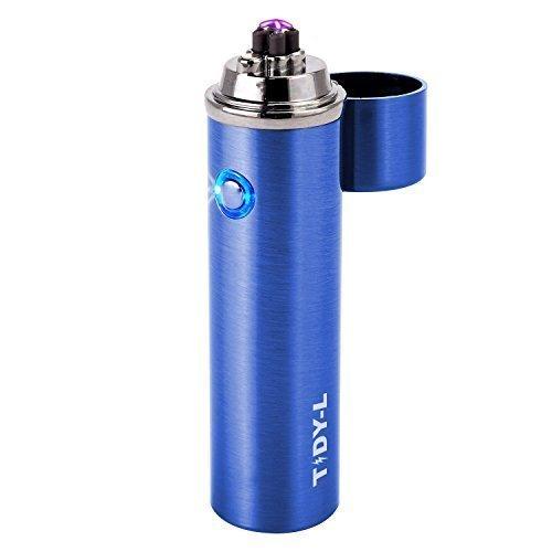 TIDY-L Lichtbogen LED Feuerzeug Elektrisch (Blau)