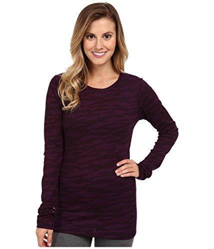 Purple Velvet Bluse (Under Armour Cozy Waffle Long Sleeve - Women's Velvet Plum Camo Medium)