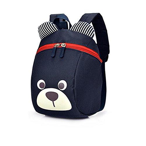 Imagen de dafenq linda bear bebé  infantil guarderia niños escuela  con seguridad riendas belt azul marino  alternativa
