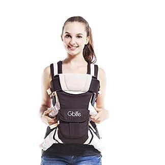 41%2Bm KABDCL. SS324  - GBlife 4-en-1 Portabebés Ajustable Portadores para Infantil del Bebé Recién Nacido con Hebilla Backpack Baby Carrier