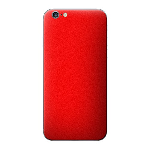 Cruzerlite Antibacterial Skin for the Apple iPhone 6 Plus - Retail Packaging - Yellow (Back Only) Red