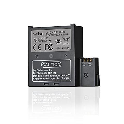Veho Muvi K-Series Handsfree Camera Spare Battery - Black