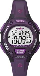 Timex T5K651SU - Reloj digital de cuarzo para mujer con correa de resina, color morado de Timex