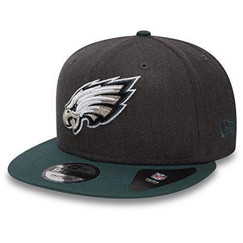 New Era NFL Heather 9Fifty Snapback Cap Philadelphia Eagles Grau, Size:S/M