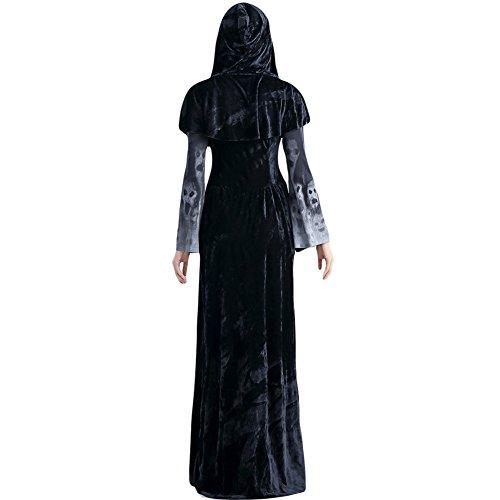 Imagen de costour disfraz halloween carnaval mujer de bruja satanás vampiro batman disfarces costume halloween fiesta baile de disfraces alternativa