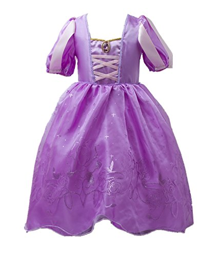 Blonde Halloween Kostüme Mädchen (Beunique® Prinzessin Kleid Grimms Märchen Kostüm Cosplay Mädchen Halloween)