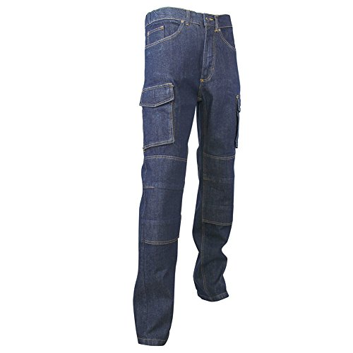 LMA 146700 WORK Jeans Extensible Multipoches, Denim Stretch, Taille 44
