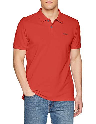 s.Oliver Herren 03.899.35.4586 Poloshirt, Rot (Cherry 3250), XX-Large