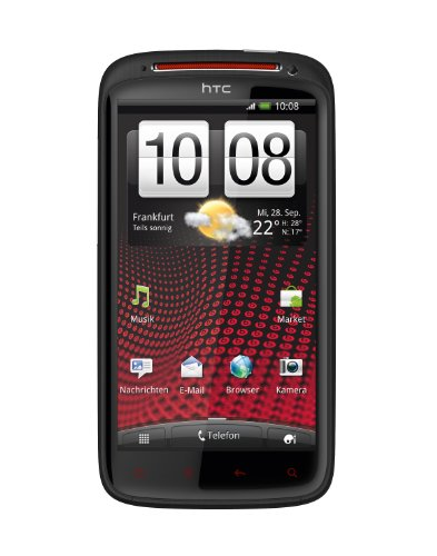 HTC Sensation XE Smartphone mit Beats Audio (10.9 cm (4.3 Zoll) Touchscreen, Android 2.3 OS, 1.5 GHz Dual Core Prozessor, 8 MP Kamera) schwarz Quad-band-wifi-gps