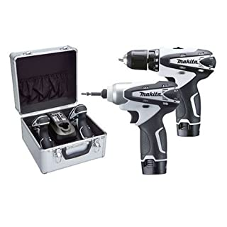 Makita LCT204W Cordless Drill with Impact Driver Kit - White (B002FOY834) | Amazon price tracker / tracking, Amazon price history charts, Amazon price watches, Amazon price drop alerts