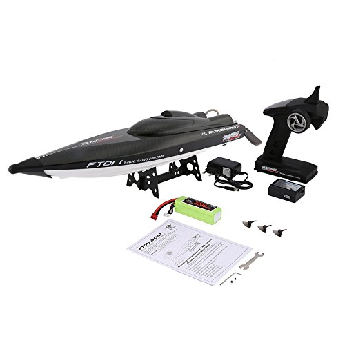 KNOSSOS Feilun FT011 65 cm 2.4G RC Brushless 55 km / h High Speed ​​Racing Upturned Boat