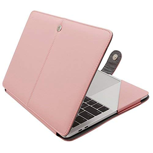 MOSISO Custodia in Pelle PU Compatibile 2018 MacBook Air 13&MacBook PRO 13, Nuova Polvere