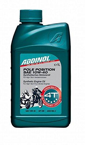 ADDINOL POLE POSITION SAE 10W-40 4T Viertaktmotorräder, 1 Liter