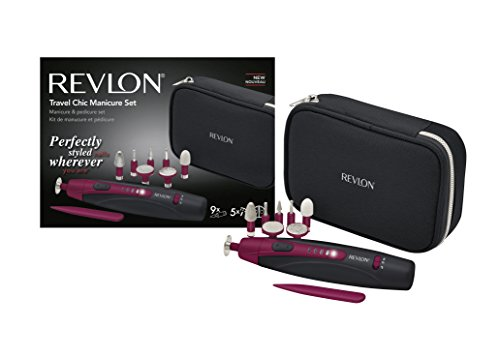 REVLON Travel Chic Set Manucure Pédicure Compact/Nomade