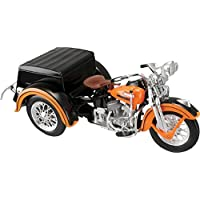 Harley Davidson Side 3 Wheeler Car-servi 1:18 Scale Kids Fun Play Motor Toy Car