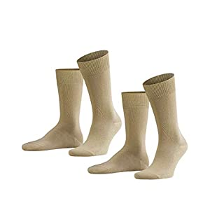 FALKE Herren Socken Swing 2-Pack – Baumwollmischung, 2 Paar, Versch. Farben, Größe 39-50 – Hautfreundlich, strapazierfähig, ideal für lässige Looks
