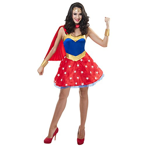o Women Dress S/M (Wonder Woman Kostüm Für Frauen)
