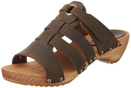 Sanita Oline Sandal, Ciabatte Donna Braun (Antique Brown)