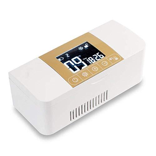 Refrigerador Caja De Refrigeración Portátil para Medicamentos Y Caja De Insulina De...