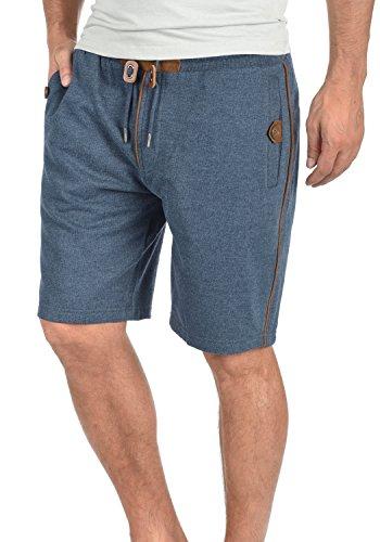 BLEND Felix Herren Sweat-Shorts kurze Hose Sport-Shorts aus 100% Baumwolle Ensign Blue (70260)