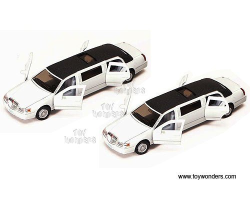 lincoln-town-car-stretch-limousine-1999-1-38-scale-diecast-model-car-white-1-vehicle-per-order-by-70
