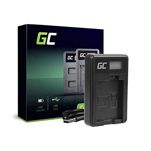 Green Cell® CBC-E5 LC-E5 Ladegerät für Canon LP-E5 Akku und EOS 450D, 500D, 1000D, Kiss F, X2, X3, Rebel T1i, XS, XSi Kameras (5W 8.4V 0.6A Schwarz) Eos Rebel Xsi Canon