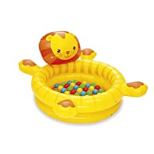 Bestway BW52261 in & Over Lion Ball Pit, Inflatable Kids Play Centre