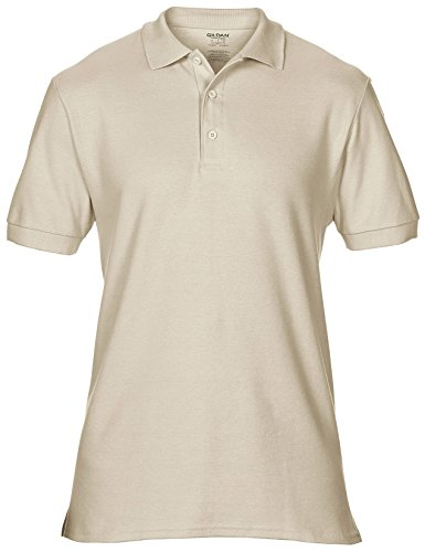 Herren Premium Baumwolle Polo-Hemd von Gildan - 18 Farben verfügbar Black