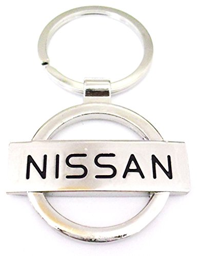 new-dream-porte-cle-en-metal-chrome-avec-logo-nissan