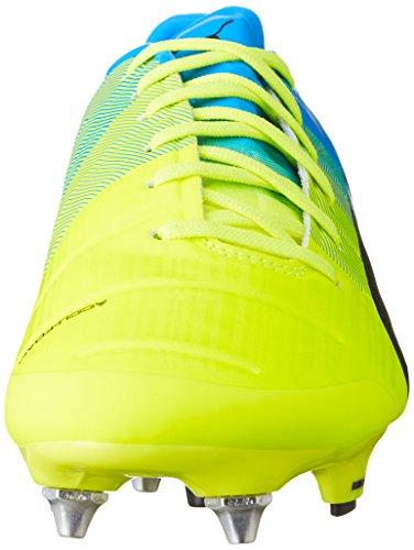 Puma Evopower 2.3 Misto Sg Herren Fußballschuhe Gelb (sicurezza Giallo-nero-blu Atomico 01)