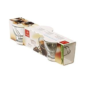 Bormioli Rocco Tazzine caffè Oslo, Vetro Temperato, 3 pezzi