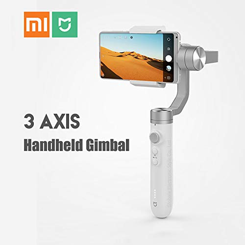 Modenny Original Xiaomi Mijia 3 Axis Handheld Gimbal Stabilizer para Action Camera Phone Mix 2 2S