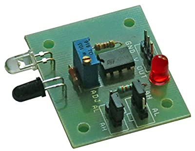 Elementz Engineers Guild Pvt Ltd IR_OBSTACLE_SENSOR_MODULE Ir Infrared Proximity /Obstacle Detector Sensor Module with High / Low Output Mode Selection