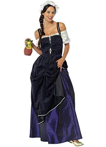 Wirtin aus dem Mittelalter - Kostüm für ()