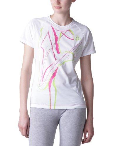 Craft - Maglietta allenamento Craft running active, donna bianco - Bianco Metro