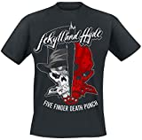 Five Finger Death Punch Jekyll and Hyde T-Shirt schwarz L