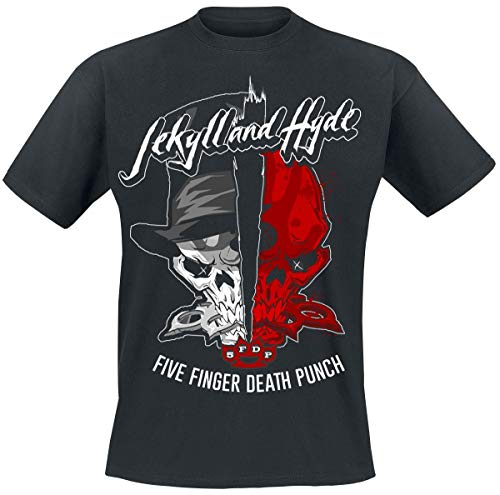 Five Finger Death Punch Jekyll and Hyde T-Shirt schwarz XXL -